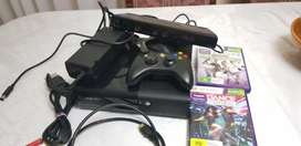 Xbox 360 E 250gb Kinect bundle with 1 free game R2300