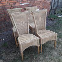 ładne krzesła ratanowe 10szt Jeienna OBNIŻKA