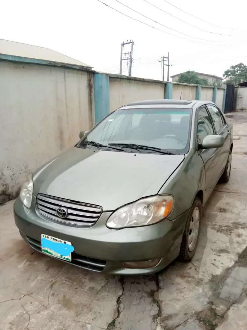 Toyota corolla in perfect working condition 0