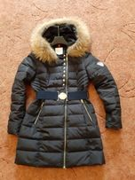 женский пуховик,зимнее пальто
