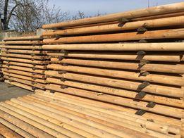 Słupki drewniane 2,6m paliki kołki Bale Hit ze Swadzimia