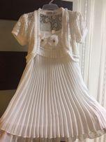 Платье нарядное, праздничное, для девочки 7-9 лет