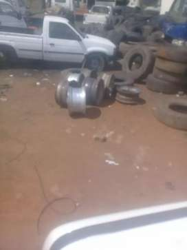 super singles rims for trailer and  Front