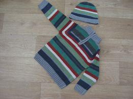 Набор шапочка и свитер