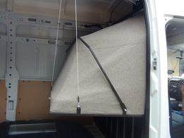 łóżko do samochodu renault master blaszak