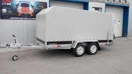 Легковой тормозной прицеп 2500 кг Сантей AL-KO (3,8x1,71)