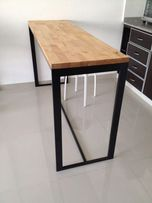 Барная стойка, кухонный стол, обеденный стол лофт. Мебель для бара