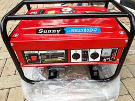 2700DC Sunny Pull Start Power generator on special for R3400