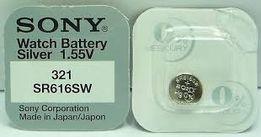 Батарейка для часов Sony SR616SW