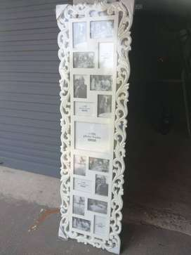 Wooden lattice picture frame