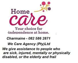 Home Care - We Care Agency (Pty)Ltd