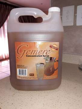 5L Gamere Concentrated Syrup or Ginger Beer for SALE