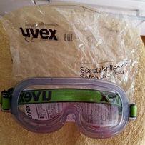 Защитные ударопрочные очки Uvex Германия новые