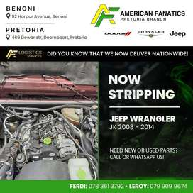 Now breaking Jeep Wrangler JK 2008 - 2014 for parts. Call or WhatsApp