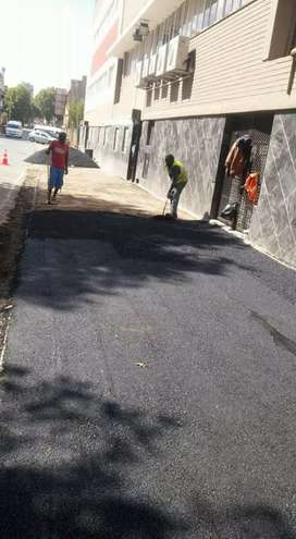 Tar surfacing projects