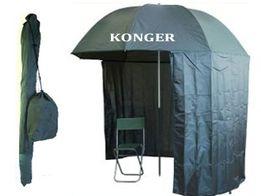 Konger parasol pół namiot 250cm z osłoną 3/4 wr-w