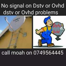 Is there no signal on Dstv or ovhd, problem solved