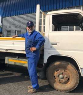 Truck hire with driver for R600 with T.S Truck Hire.