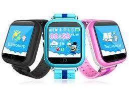 Детские Умные часы GPS Smart Watch Q100S с прослушкой и GPS трекером!