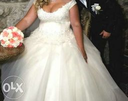 Свадебное платье весільна сукня 54- 56 р