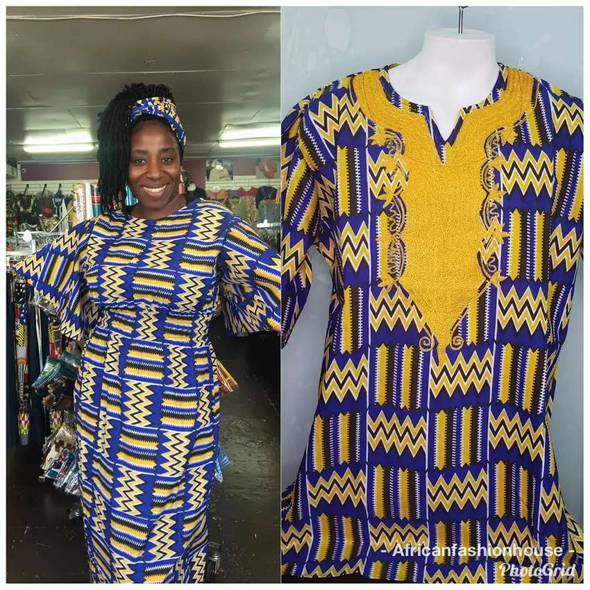 African couple wear 0