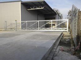 Bramy przemysłowe panelowe, palisadowe, ogrodzenia przemysłowe wrocław