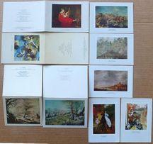 Подборка открыток. Живопись. Дега, Брюллов, Венеция, Голландия и др.