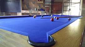 Pool and Snooker tables recover and maintenance