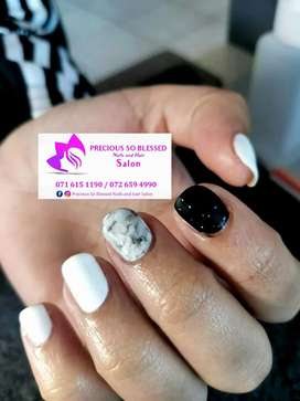 Acrylic nails ,Gel and pedicure