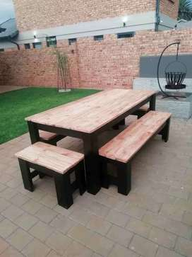Dining Tables and bar stools