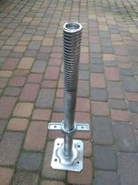 Rusztowanie elewacyjne warszawskie stopy 60cm nowe DMS, stopa