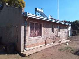 A clean house with solar water heater