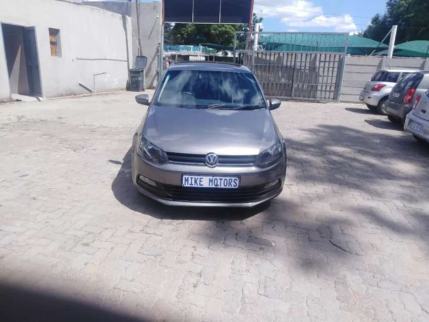 2018 polo vivo 1.4 comfortline, with leather seat