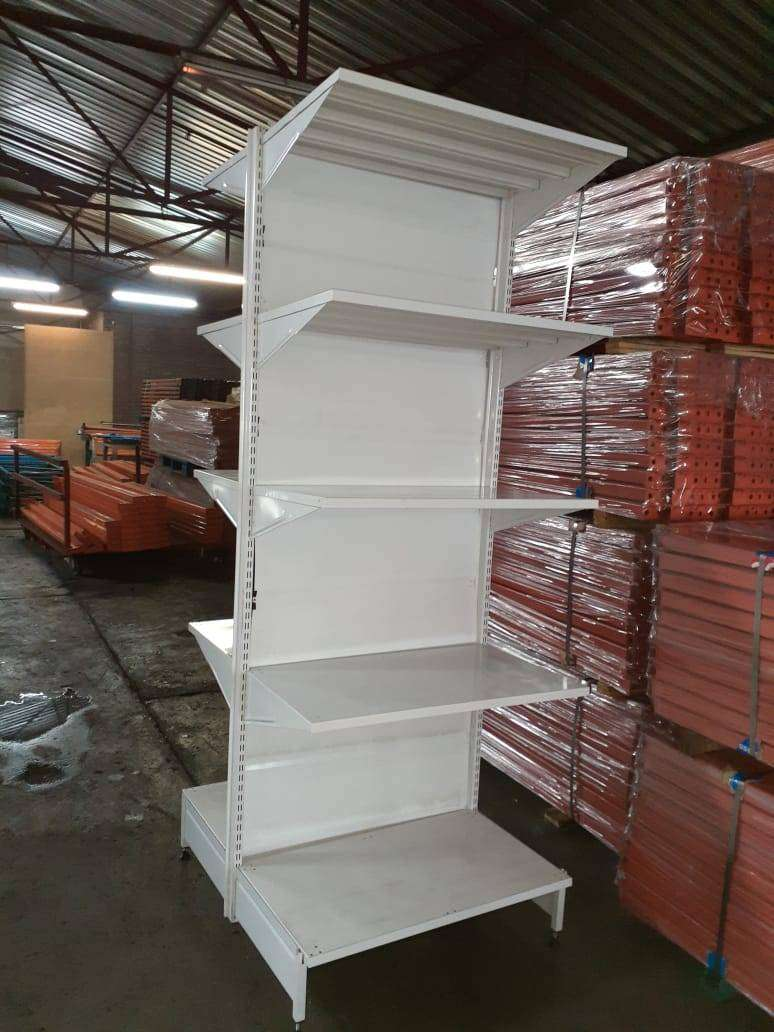 Second hand Gondola Shelving 0