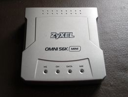 Модем ZyXel omni 56k