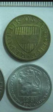 Монеты грош в ассортименте