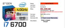 Intel I7-6700 For Sale