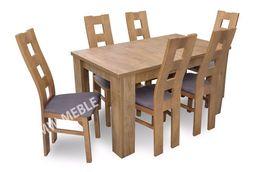 Sprawdź! Nowoczesny Stół + 6 Krzeseł Prosto Od Producenta! DOSTAWA