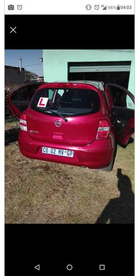 Selling my Nissan Micra 1,2