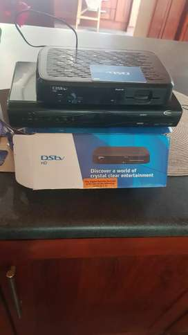 Decoder and dish with extra decoder