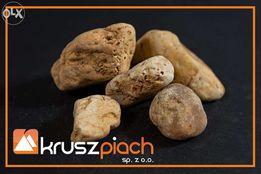 Żwir Kwarcowy Brązowy od 32mm (nadziarno) Kora Granit Piasek Kamień