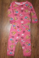 Пижама набор кофточка штаны штанишки на девочку 24 мес 2 года Disney