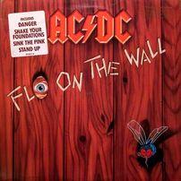 AC/DC – Fly On The Wall 1985 US винил диск пластинка альбом