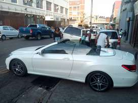 Mercedes Benz AMG E250 MODEL 2015 CONVERTIBLE FOR SALE