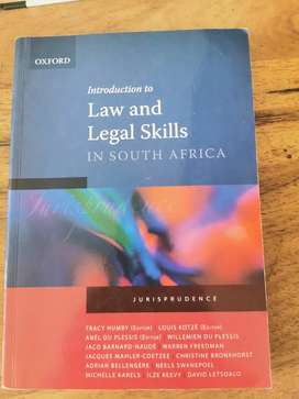 Introduction to Law and Legal Skills in South Africa