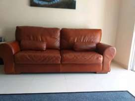 Genuine Leather Sofa for Sale