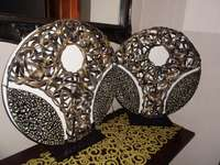 Image of Moroccon Bedside lamps