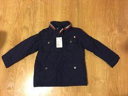 Детская куртка тёмно-синяя H&M рост 110