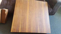 Stolik kawowy, lite drewno, fornir orzech amerykański