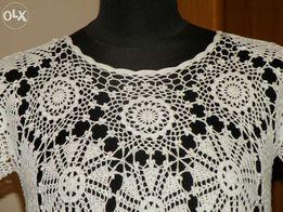 Sukienka na szydełku, handmade